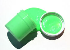 GREEN GLOW in the DARK Daytime Visible & UV Re-active Paint 4oz-8oz
