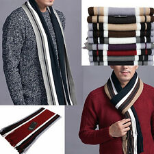 New Men Winter Long Pashmina Shawl Classical Artificial wool Scarf Tassels Scarf