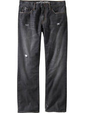 NWT OLD NAVY Men's Distressed Straight Leg Jeans