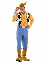 DISNEY TOY STORY WOODY DELUXE COWBOY ADULT MENS COSTUME Halloween Theme Party