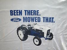 Ford Tractor Been There Mowed That - Adult T-Shirt Mens Womens and Juniors Sizes