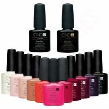 CND Shellac nail polish, Choose from ALL colours,Top Coat & Base Coat .UV Gel