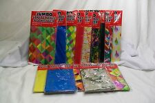 "Stretchable Fabric Book Binder Cover Reusable Washable 8""x10"" or 10.5""x11.5"" New"
