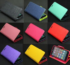 Deluxe Wallet Leather Flip Magnetic Case Cover Stand For LG Google Nexus 5 E980