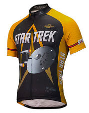 Star Trek USS Enterprise Cycling Jersey Men's Short Sleeve Brainstorm Gear bike