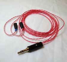 Sennheiser IE8 IE80 Headphone Cable Replace OCC Silver Plated Upgrade Cable