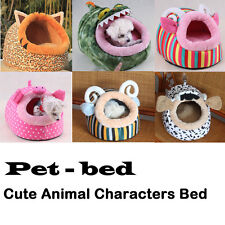 Cute Warm Animal Character Soft Fleece Pet Bed House Mat for Dog Puppy Cat Teddy
