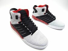 SUPRA SKYTOP III WHTE BLACK RED WHITE MEN SHOES SIZE 5