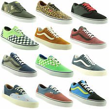 VANS~MENS TRAINERS~SHOES~CHOICE OF 12 SUPER COLOURS/LATEST STYLES~F1V3~SAVE ££'S