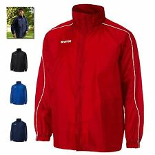 Mens Womens Sports Jacket Lightweight Training Track Top Hooded New By Errea