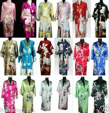 20 colour Oriental Chinese Kimono Style Dressing Gown Bath Robe Pajamas