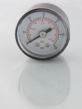 1.1/2 in Dia  ( 40mm ) Air Pressure Gauges Multi Listing, 15 psi to 300 psi