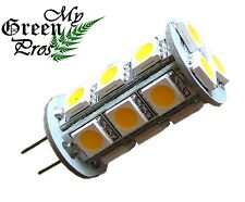 G4 LED Bulb for Landscape Lighting, 18SMD 5050 Chip 3W, 12V AC, 20W Replacement