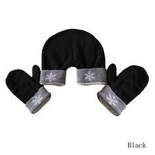 Hot 3 Pcs Lovers Gloves Mittens Warm Winter Sweethearts Outfit Christmas Gift GD