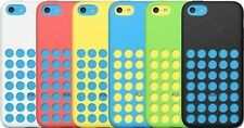 For Apple iPhone 5C Slim Dotted Rubber SILICONE Soft Gel Skin Case You Gets 6