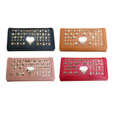 NEW  LYDC london anna smith studded stud  women  ladies girl wallet purse black