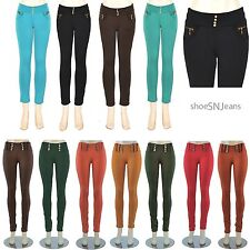 Women Skinny Colorful Jeggings Stretchy Sexy Pants Soft Leggings Pencil Tights