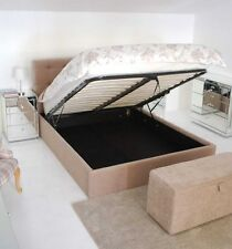 5ft King Size / 4ft6 Double  Luxury Upholstered Ottoman Storage Bed
