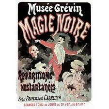 NEW! Vintage Musee Grevin Magie Noire Apparitions Poster Home Decor Wall Art