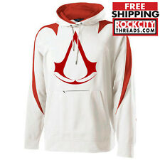 ASSASSINS CREED HOODIE gamer tee symbol special ops altair etsio ps3 xbox creed