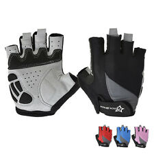 RockBros Gel Cycling Gloves Half Finger Fingerless Short Biking Bike Gloves S-XL