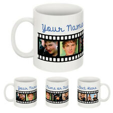 Personalised Mug Tea Coffee Mug Any Photo & Text  Possible. New Flim Roll Design