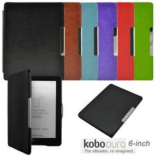 New Auto Sleep Magnetic Leather Case Cover For KOBO AURA non HD 6.0 inch eReader