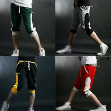 Korean Stylish Mens New Fashion Casual Sport Cropped Trousers Short Pants Thin