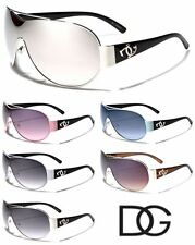 DG Eyewear Aviator Ladies Popular Stylish Fashion Shield Sunglasses - DG35
