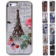 Newest Dustproof Fashion Hard Durable Protector Case Cover For Apple iPhone 5/5S