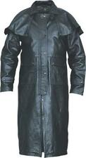 Mens Duster Soft Buffalo Leather Allstate Leather Motorcycle Jacket AL2600
