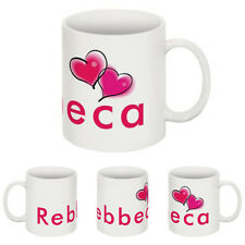 PERSONALISED MUG ANY PHOTO & TEXT or CHOOSE A HEART DESIGNS ADD ANY NAME & TEXT