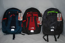 THE NORTH FACE RECON BACKPACK ASPHALT GRAPHITE GREY HOMBRE COSMIC BLUE AUTHENTIC