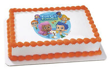 Bubble Guppies EDIBLE IMAGE for cakes,cupcakes,cookies featuring Gil and Molly