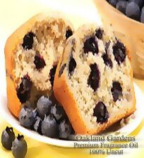 BLUEBERRY MUFFIN FRAGRANCE OIL - sugared blueberries with a warm cake accord ~!!