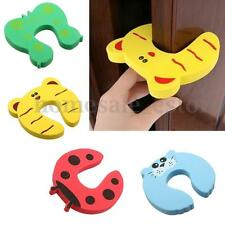 1/4/10pcs Baby Safety Door Stop Finger Pinch Guard Lock Jammer Stopper Protector