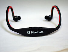 Earphone Headphone Wireless Bluetooth Stereo for Cell Phone Laptop Rechargeable