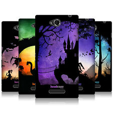 HEAD CASE DREAMSCAPES SILHOUETTES HARD BACK CASE COVER FOR SONY XPERIA C C2305