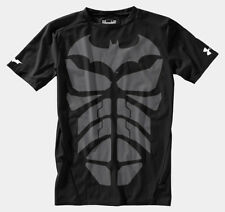 Under Armour Youth Marvel Comics Fitted T-shirt Dark Knight  New