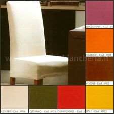 2 slip CHAIR COVER ELASTIC 14 colours  2 PCS Cover dressing chairs 2