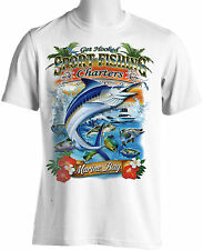 Sport Fishing T Shirt Charter Boat Mexico Marlin Fishing Cabo Sm to 4XL and Tall