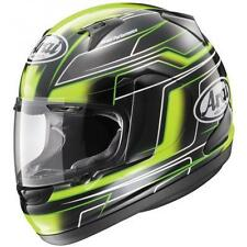 Arai RX-Q Electric Green / Black / Yellow Motorcycle Riding Helmet