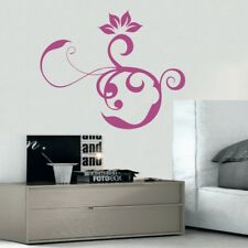 DECORATIVE SWIRL wall stickers bedroom lounge living room sticker art vinyl