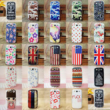 Paint Hard Pattern Back Skin Case Cover for Samsung Galaxy S3 III I9300