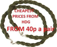 BRITISH ARMY MILITARY ELASTIC TROUSER TWISTS BUNGEE FROM 40p=Combat/MTP/Camo/DPM