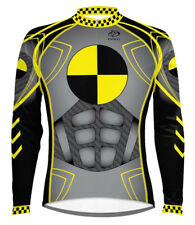 Primal Wear Crash Test Dummy Long Sleeve Cycling Jersey Men's with DeFeet Socks