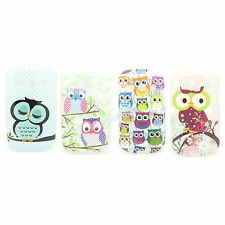 4 Type Choice Owl TPU IMD Gel Soft Case Cover For Samsung Galaxy Fame S6810