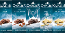 CAVALIER SUGAR FREE DIABETIC INULIN LOW CARB  BELGIAN CHOCOLATE BARS IDEAL GIFT