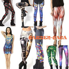 2015 New Nightclub GYM Yoga Muscle Hobbits Galaxy Pants Leggings Party Dress