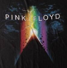"NEW! Pink Floyd ""Pyramid Power"" Classic Rock Band Liquid Blue Adult T-Shirt"